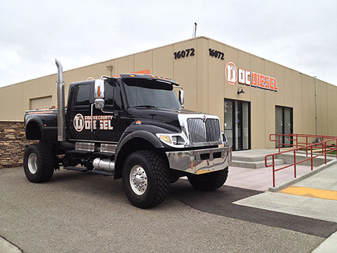 Orange County Diesel in Huntington Beach