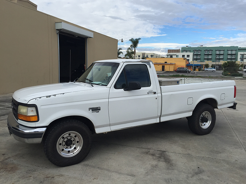 1997 7.3L Powerstroke F250 Standard Cab, Short Bed 4WD (1)