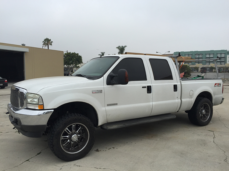 2004 6.0L Powerstroke F250 Crew Cab, Short Bed 4WD (1)