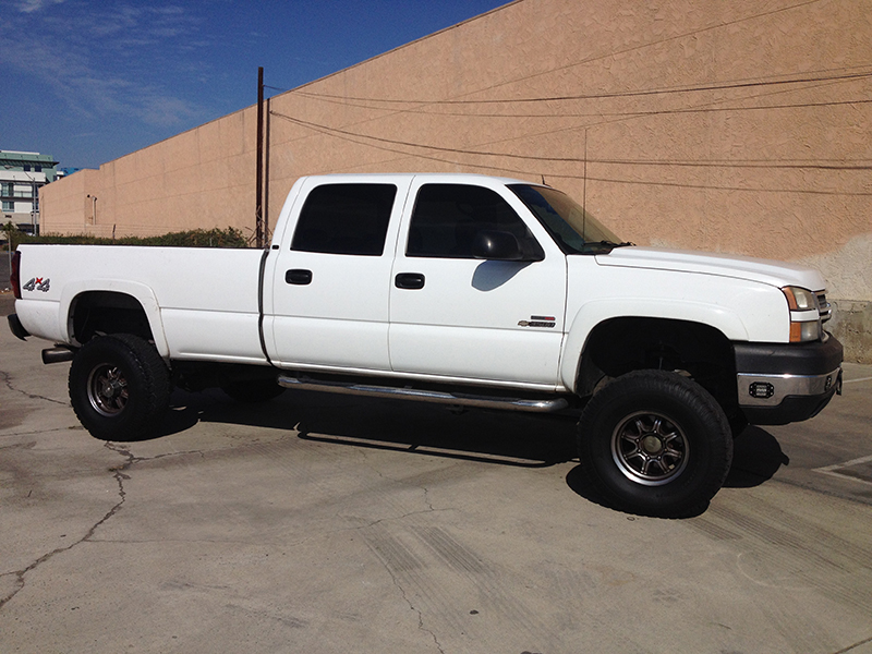 2004 6.6L Duramax LLY 3500HD Crew Cab, Long Bed 4x4 (1)