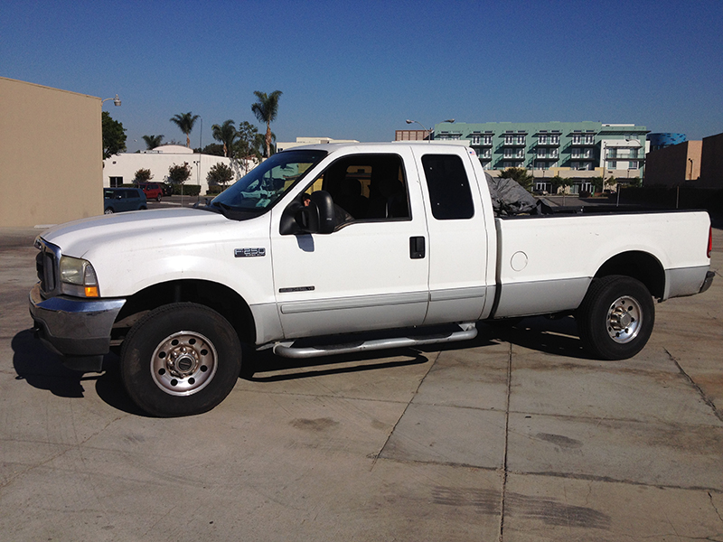 2002 7.3L F250 Powerstroke Extended Cab, Long Bed 4WD (1)