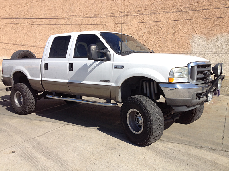 2003 7.3L Powerstroke F250 Crew Cab, Short Bed 4WD (1)