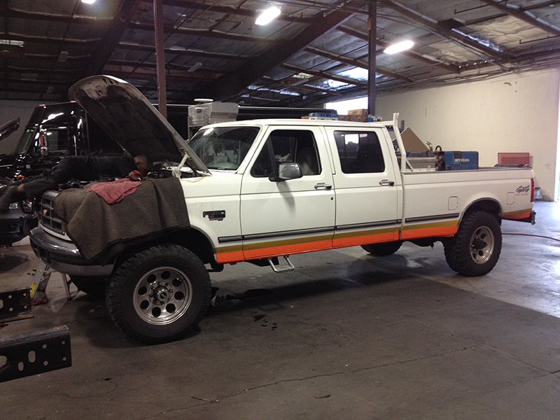 1997 7.3L F350 Crew Cab, Long Bed 4X4 (1)