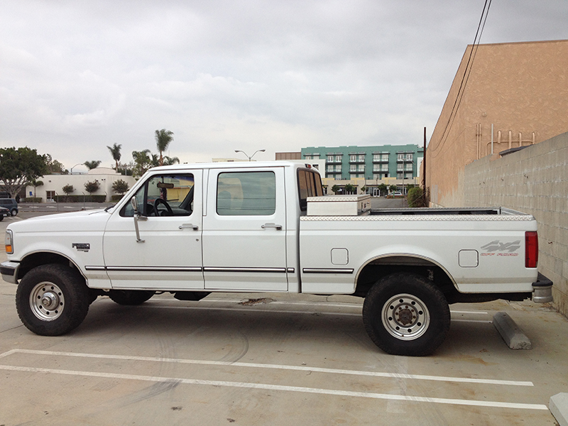 1997 7.3L F250 Crew Cab, Short Bed 4x4 (1)