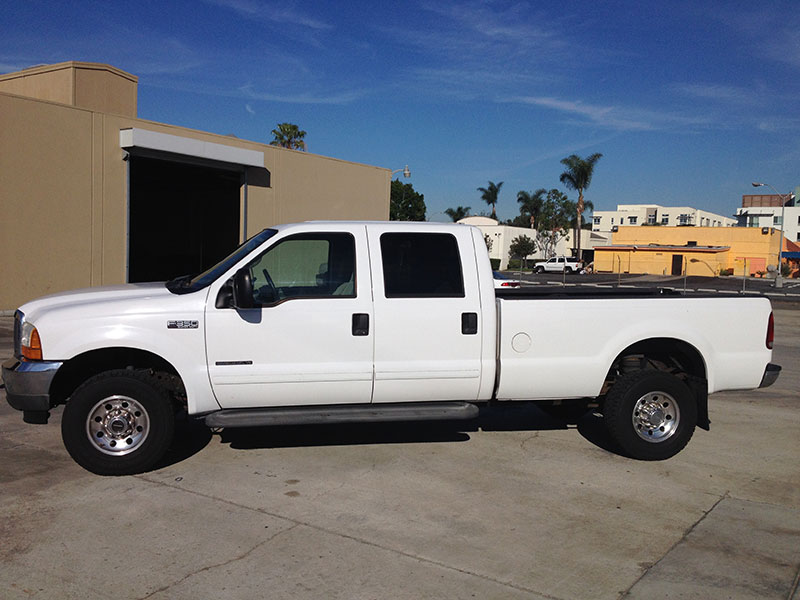 2001 7.3L Powerstroke F350 Crew Cab, Long Bed 4WD (1)