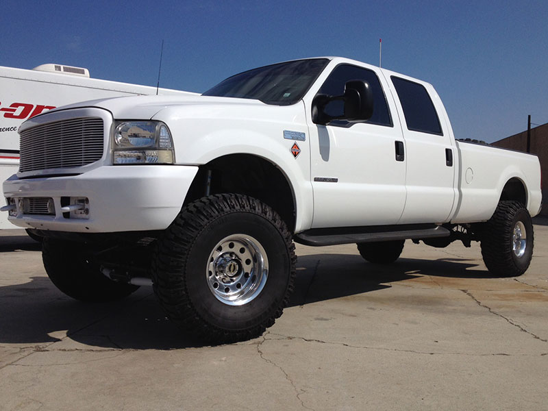 2000 7.3L Powerstroke F350 Crew Cab, Long Bed 4WD (1)