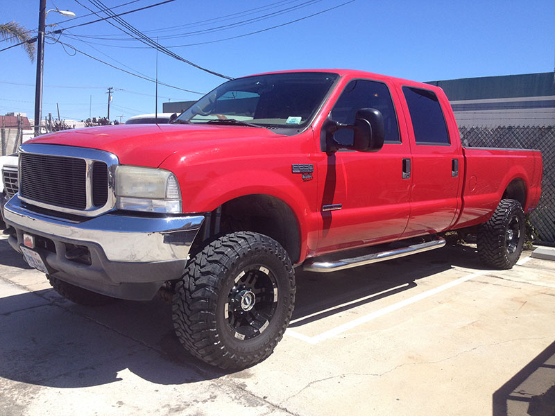 2001 Ford Powerstroke F250 Crew Cab, Long Bed 4WD (1)