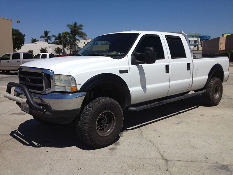2002 7.3L Powerstroke F250 Crew Cab, Long Bed 4WD (1)