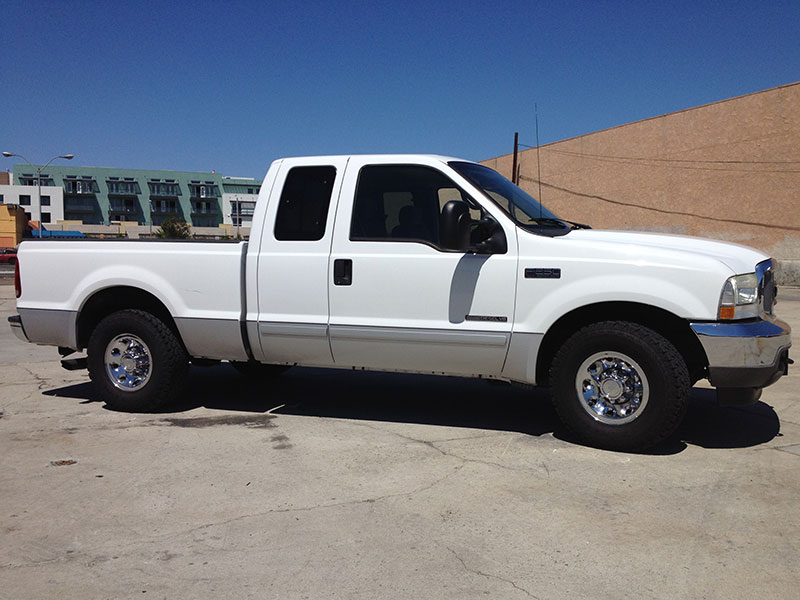 2002 7.3L Powerstroke F250 Extended Cab Short Bed (1)