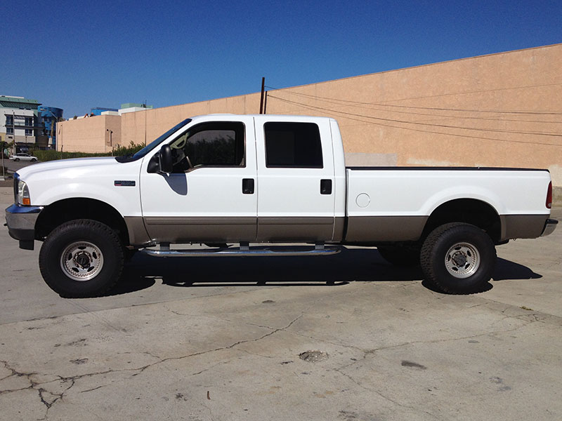 2002 7.3L Powerstroke F350 Crew Cab, Long Bed 4x4 (1)