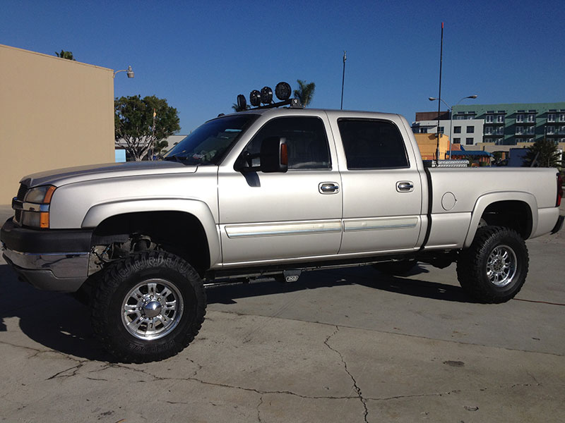 2003 6.6L Duramax LB7 2500HD Crew Cab, Short Bed 4x4 (1)