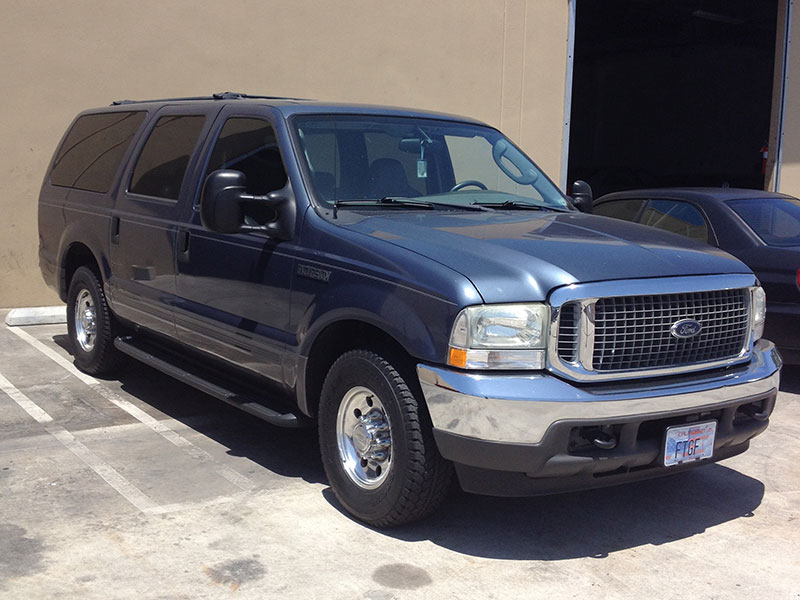 2003 6.0L Powerstroke Ford Excursion 4WD (1)