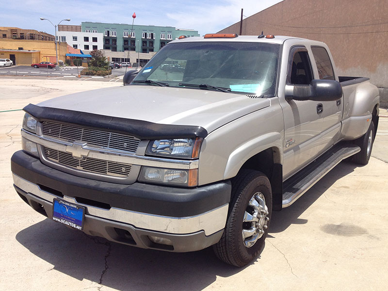 2003 6.6L Duramax Chevy Crew Cab, Long Bed 4WD (1)