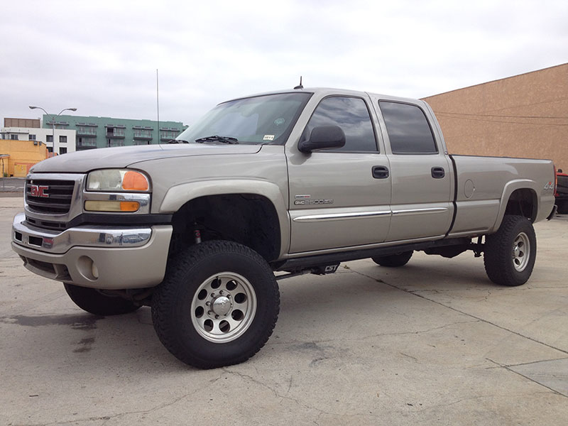 2003 6.6L Duramax GMC Crew Cab, Long Bed 4WD (1)