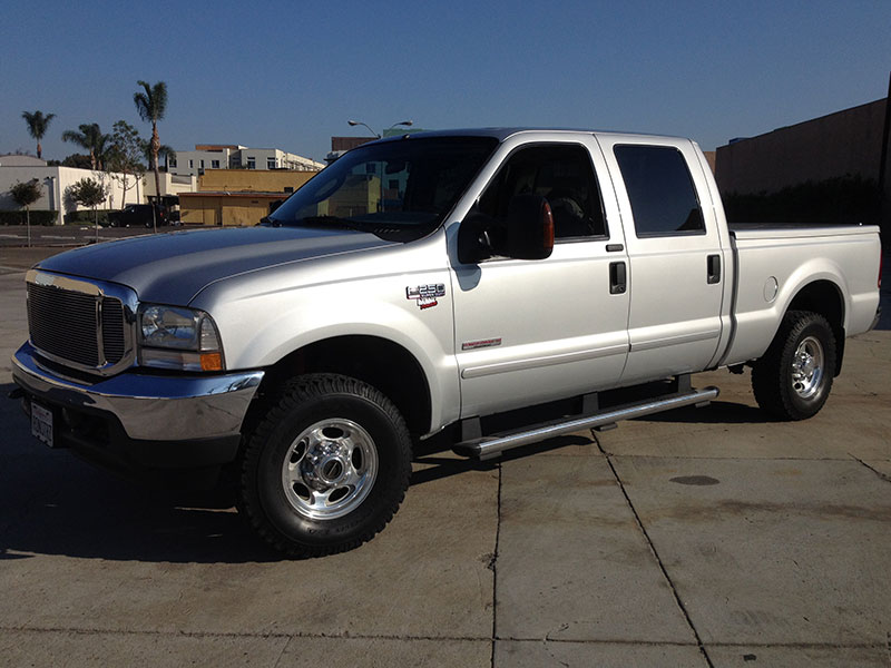 2004 6.0L Powerstroke F250 Crew Cab Short Bed 4x4 (1)