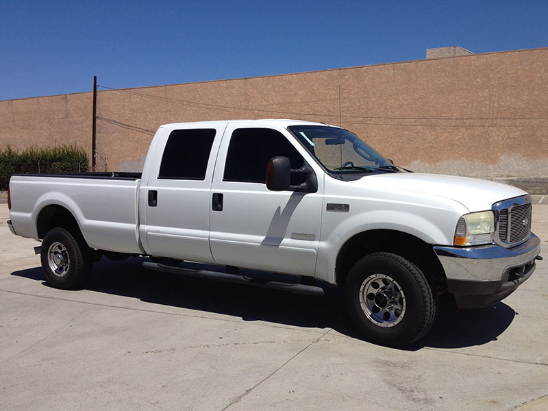 2004 6.0L Powerstroke F350 Crew Cab, Long Bed 4WD (1)