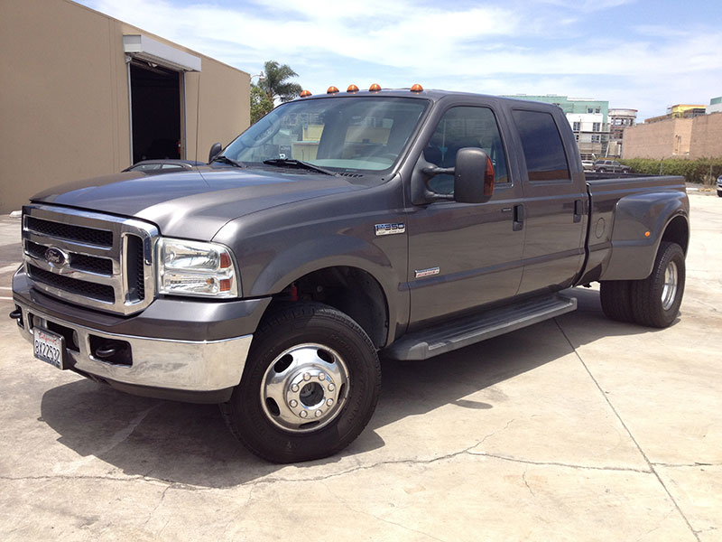 2005 6.0L Powerstroke Ford F350 Crew Cab, Long Bed 4WD Dually (1)
