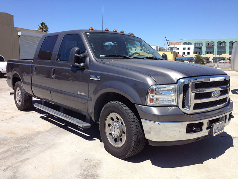 2005 6.0L Powerstroke F250 Crew Cab, Short Bed 2WD (1)