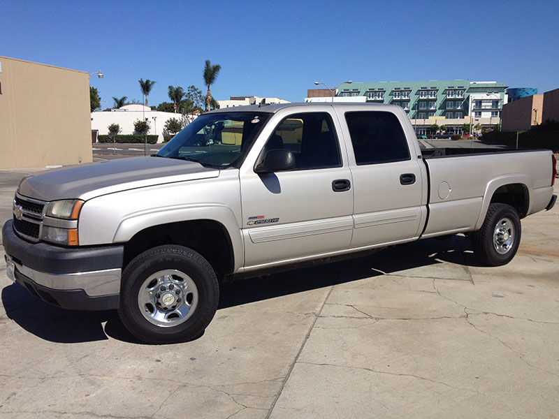 2006 6.6L Duramax LBZ 2500HD Crew Cab, Long Bed 2WD (1)