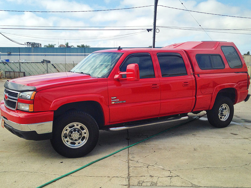 2006 6.6L Duramax Chevy 2500 Crew Cab, Long Bed 4WD (1)