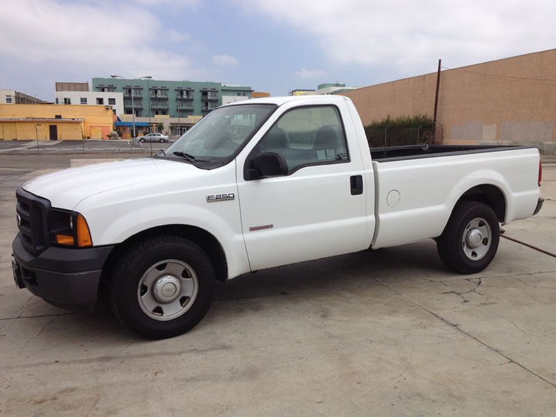 2006 6.0L Powerstroke Standard Cab, Long Bed 2WD (1)