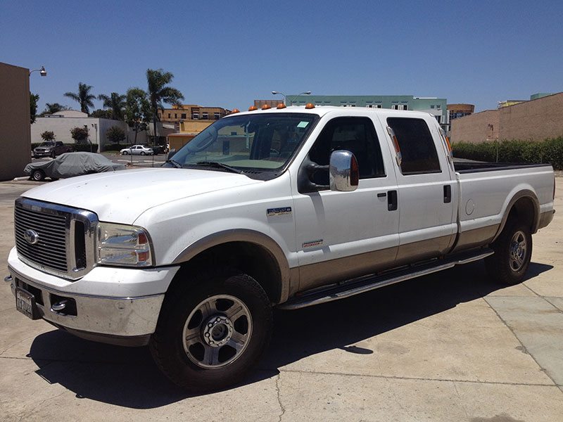 2006 6.0L Powerstroke F350 Crew Cab, Long Bed 4WD (1)