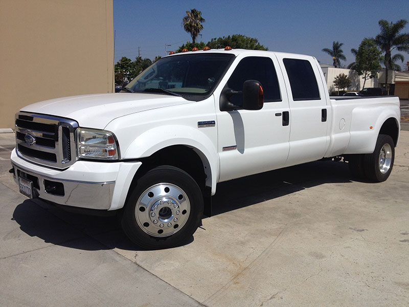 2006 6.0L Powerstroke Ford F550 Crew Cab, Long Bed 4WD (1)