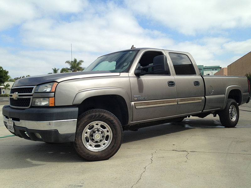 2007 6.6L Duramax 2500HD Crew Cab, Long Bed 2WD (1)