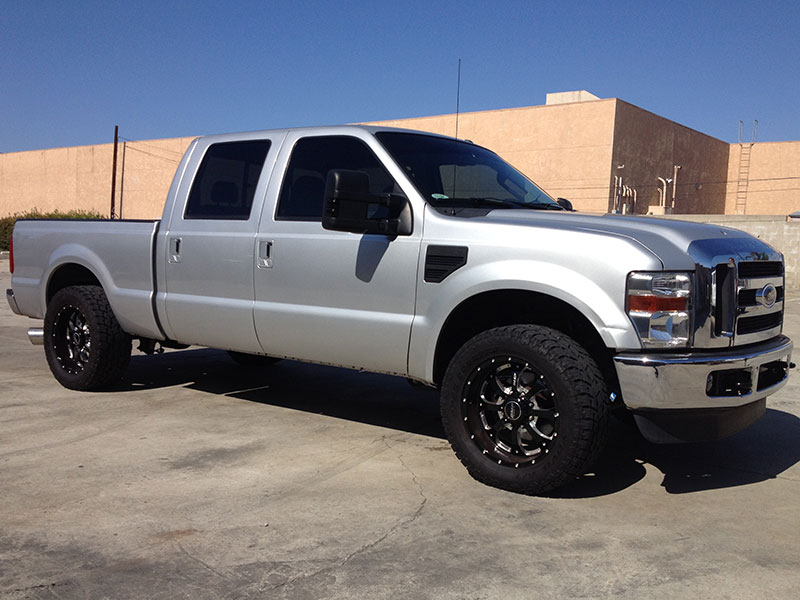 2010 6.4L Ford Powerstroke F250 4WD Crew Cab, Short Bed (1)