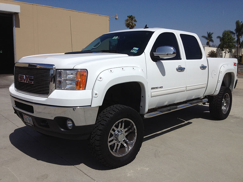 2011 6.6L Duramax Chevy 2500HD Crew Cab, Short Bed 4WD (1)