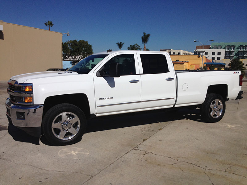 2014 6.6L Duramax 2500HD Crew Cab, Long Bed 4x4 (1)