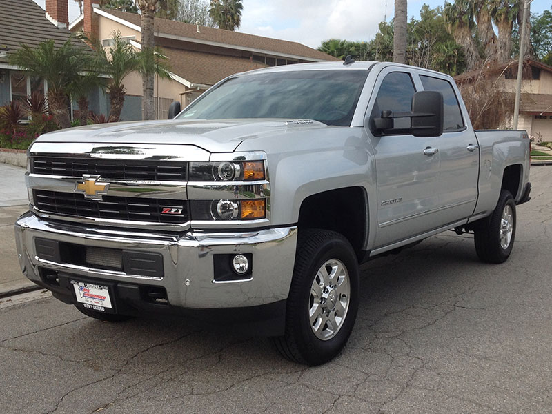 2015 6.6L Duramax Chevy 2500H Crew Cab, Short Bed 4WD (1)
